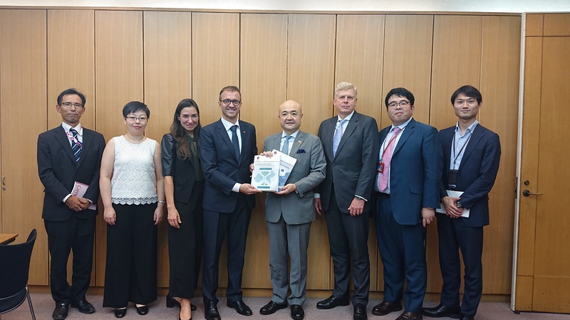 Chamber Presents Advocacy Publications to Japanese Consul General